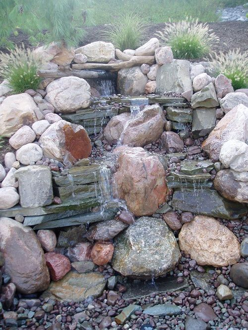 Homemade Waterfall Fountain Pictures