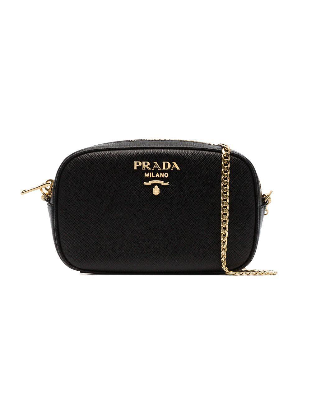 33780d841243cd PRADA PRADA BLACK SAFFIANO LEATHER BELT BAG. #prada #bags #leather #belt  bags