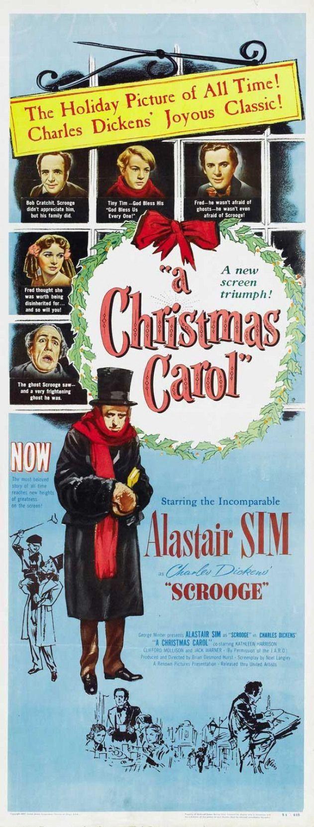 A Christmas Carol 14x36 Movie Poster 1951