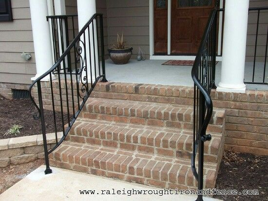 Nice Curves Wrought Iron Porch Railings Wrought Iron Stair