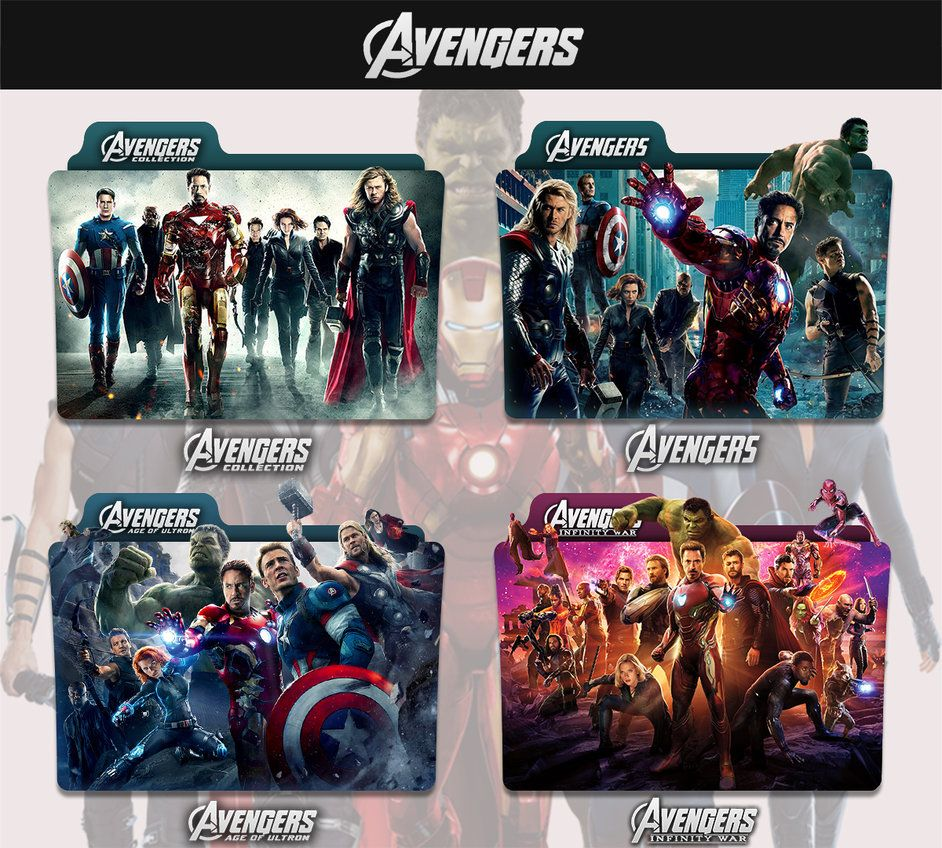 The Avengers 2012 2018 Folder Icon By Sonerbyzt Folder