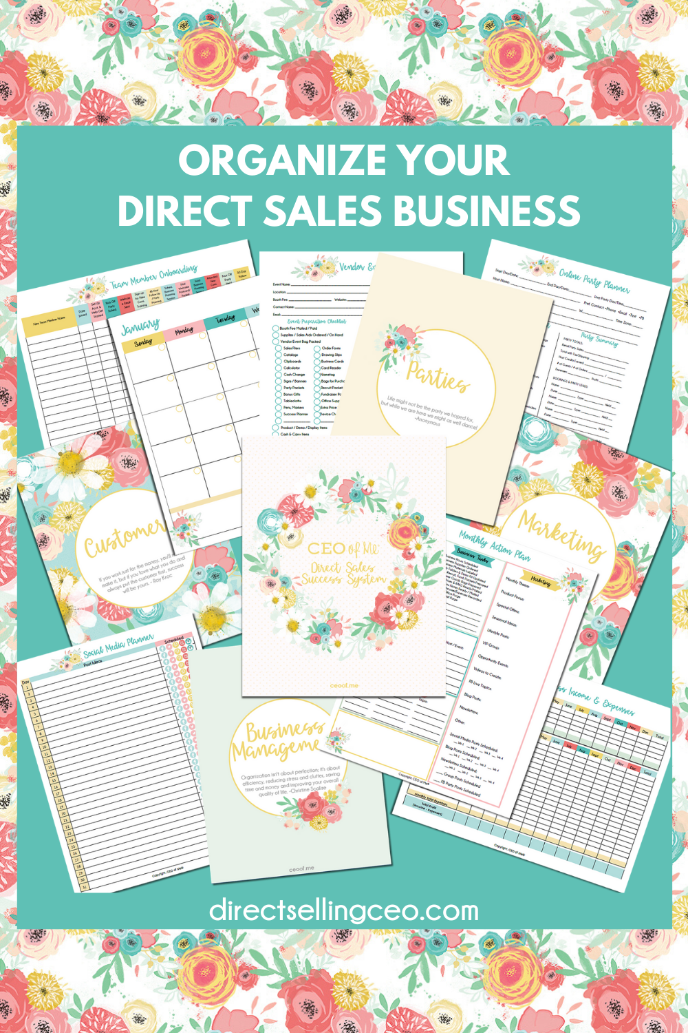 Learn How To Organize Systemize Optimize Your Direct Sales
