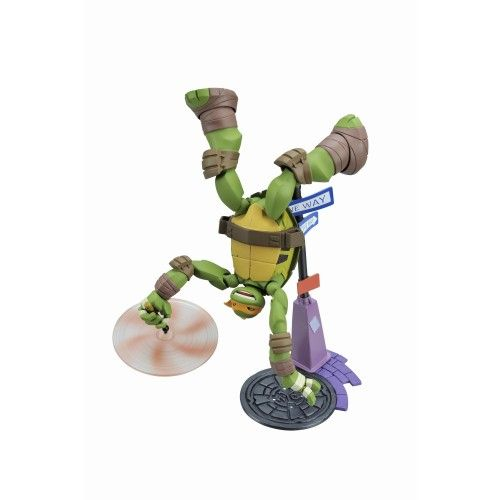 "Mutant Ninja Turtles Revoltech /""Michelangelo/"""