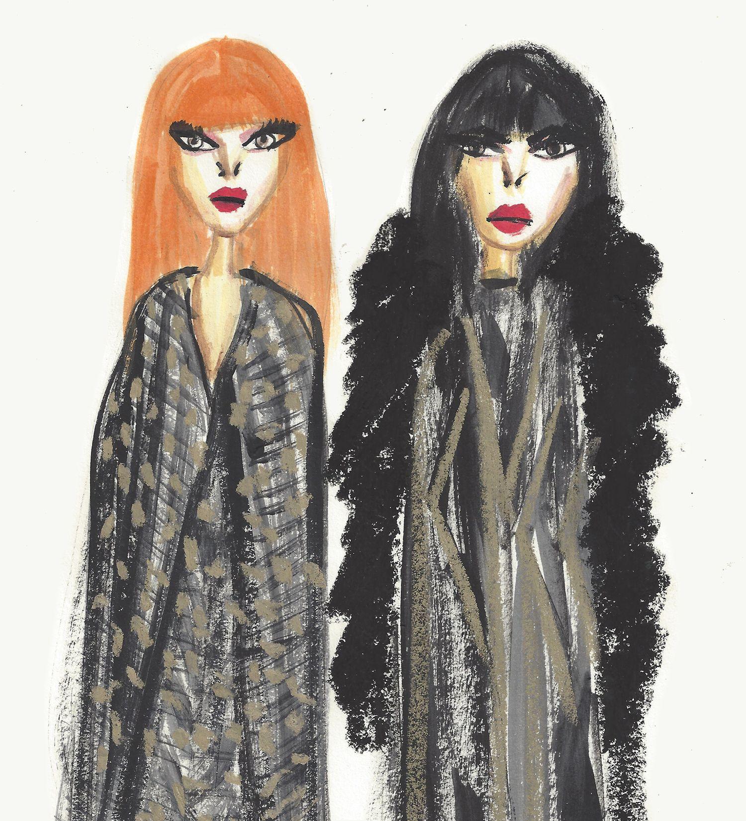 Givenchy Couture 2016 @jessrielle fashion illustration