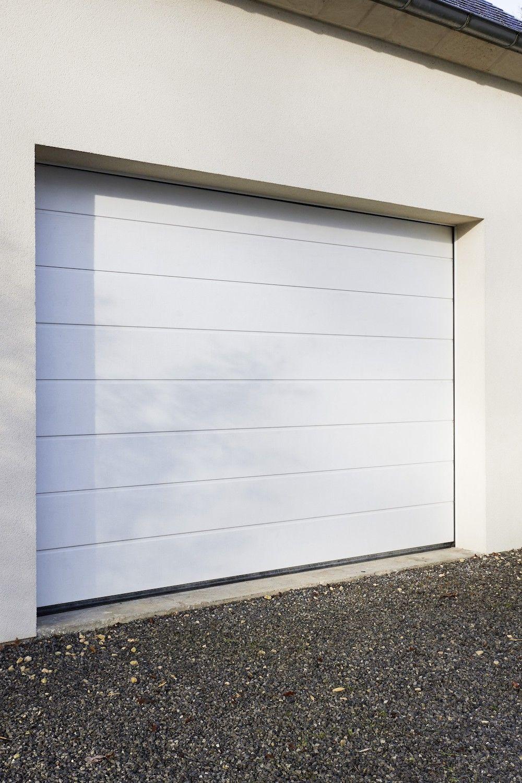 Porte De Garage Oregon Sectionnelle En Kit Motorisee En 2020 Porte Garage Portes Garage