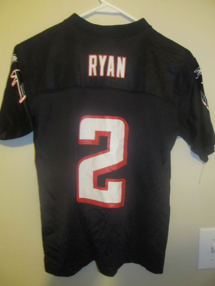 0a6735d8 Matt Ryan - Atlanta Falcons Black jersey - Reebok youth medium ...