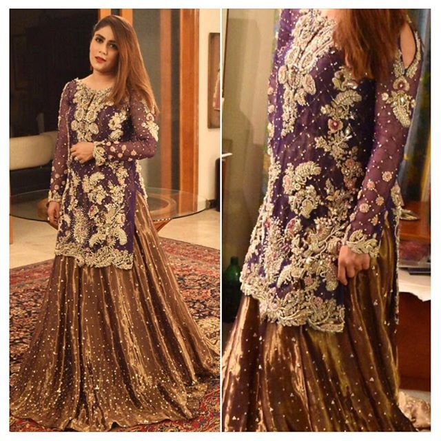 Someone give me a reason to wear this gorgeous lehnga by @nousheen_aummar  #pssinspo