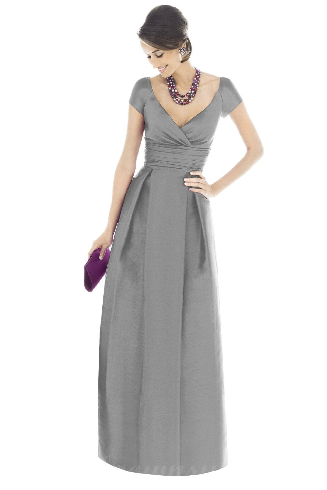 Bridesmaid dresses buy cheap v neck satin puffy grey bridesmaid bridesmaid dresses buy cheap v neck satin puffy grey bridesmaid dresses ombrellifo Choice Image