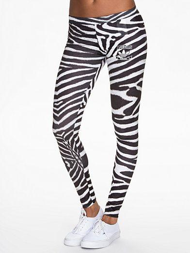 Adidas Originals Zebra Leggings | Workout | Zebra leggings