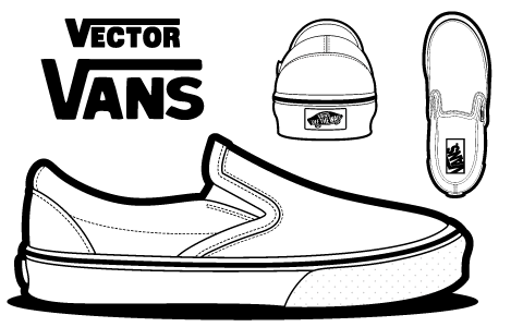 Vans drawing | Shoe design sketches, Sneakers drawing, Shoes