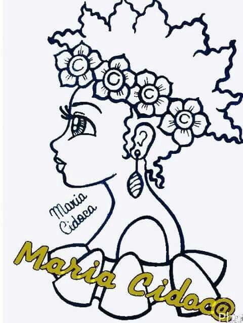Facebook Desenho De Cacheadas Desenho Africano Bonecas Africanas