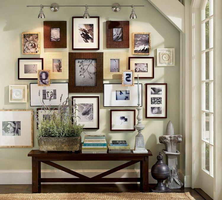 tableaux d co des id es de d coration murale mur de cadres pinterest parement mural. Black Bedroom Furniture Sets. Home Design Ideas