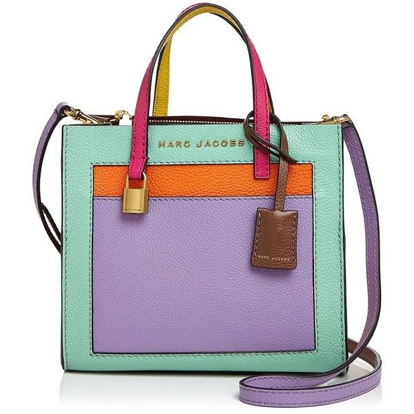 63c292d85fe2 Marc Jacobs Mini Grind Leather Shoulder Bag (€340) ❤ liked on Polyvore  featuring