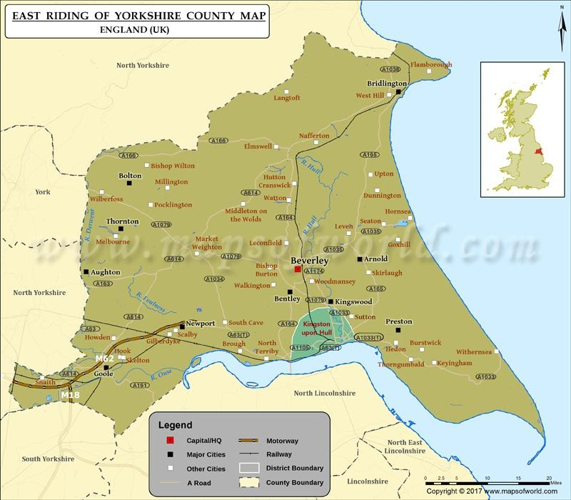Map Of England With Counties And Major Cities.Yorkshire Day Aug 1 Is Celebrated To Promote The Historic County Of
