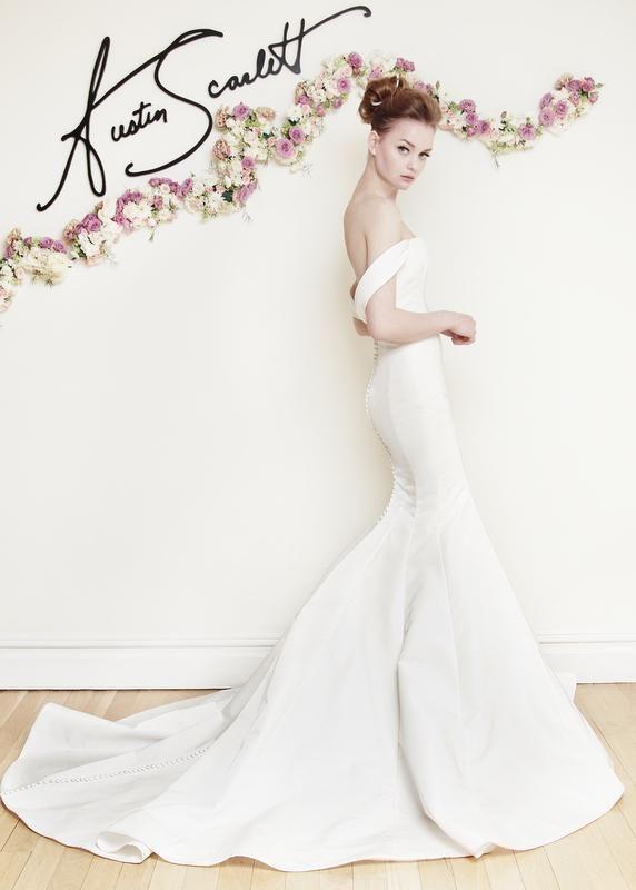 Austin Scarlett Bridal Spring 2016 Collection | Weddings, Wedding ...
