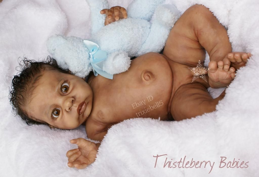 Thistleberry Babies Full Body Solid Silicone Baby Boy Beautifully Reborn Real Life Baby Dolls Silicone Reborn Babies Life Like Baby Dolls