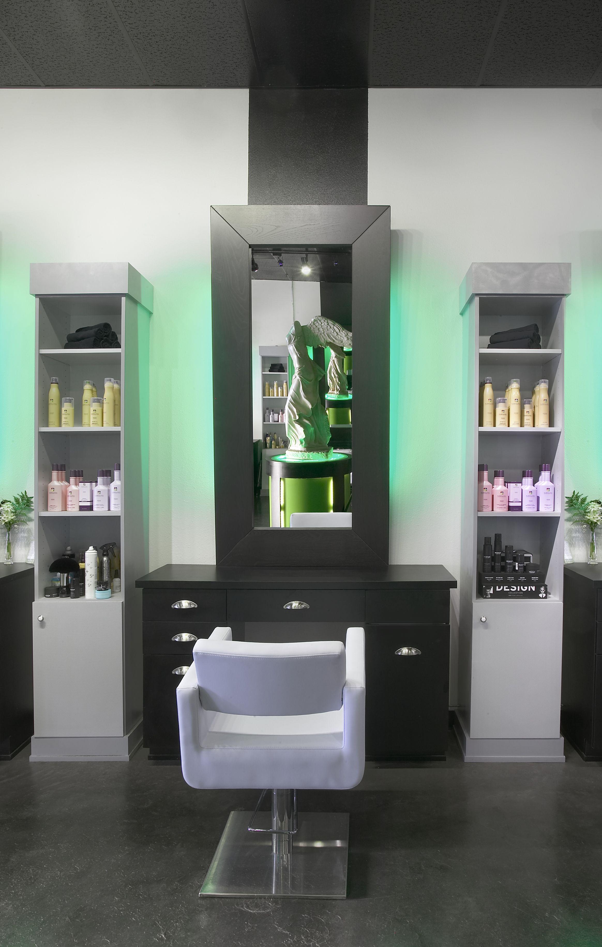 Modern Salon Station Closeup | Hospitality I Have Created ...