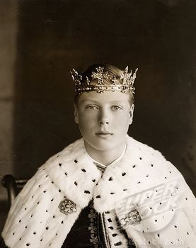 The young Prince Edward, known in his family as David ...