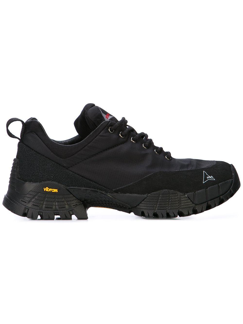 8ede87393 ROA ROA CHUNKY SOLE SNEAKERS - BLACK. #roa #shoes | Roa in 2019 ...