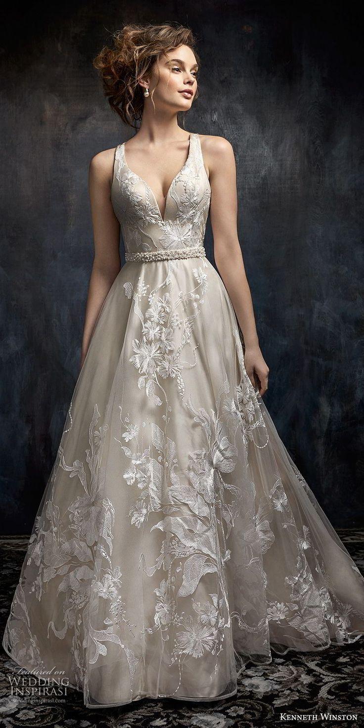 Kenneth Winston Fall 2017 Wedding Dresses in 2020