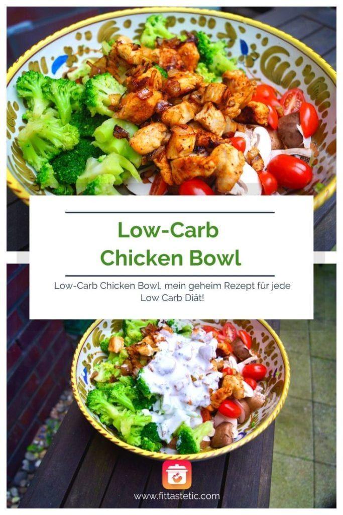 Photo of Low-Carb Chicken Bowl – Low-Carb Bowl Rezept