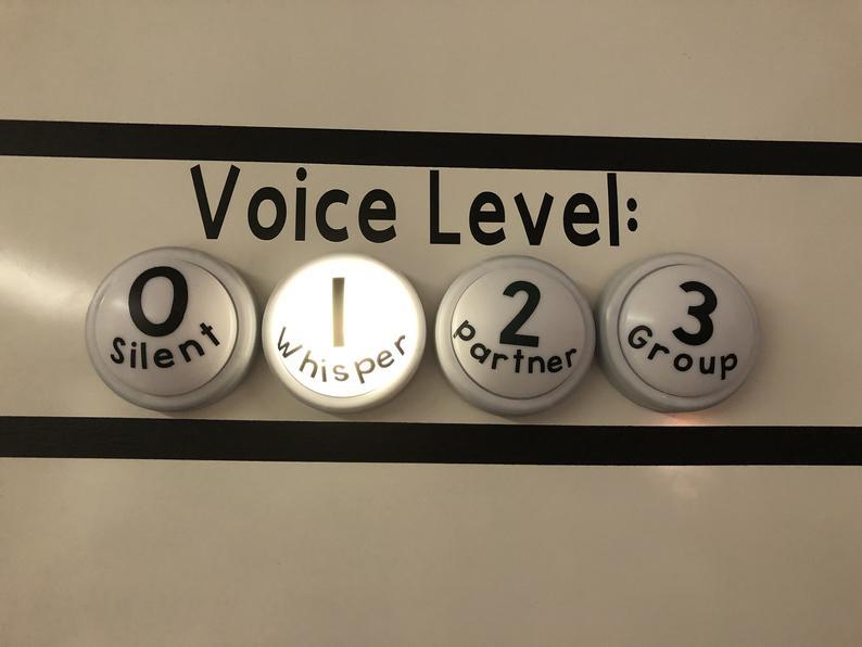 Voice Level Lights