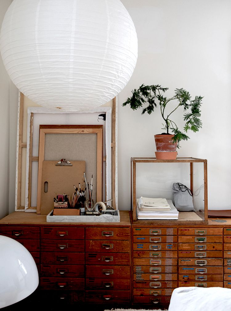 my scandinavian home: The Wood and White Malmö Home of a Creative #woonkamerinspiratie