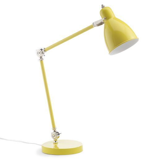 Industrial Task Table Lamps West Elm She Says Hello Yellow In