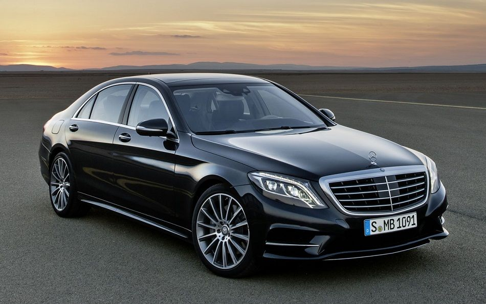 2014 black mercedes benz s class sedan concept