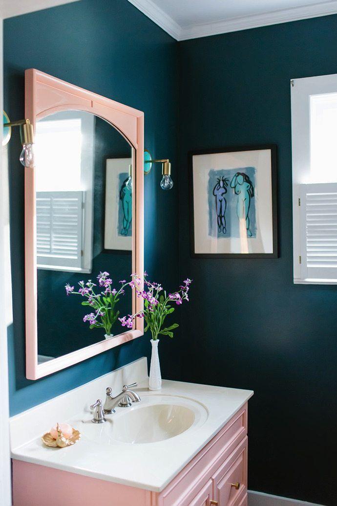 pink bathroom decor Bathroom Ideas Pinterest Pink bathroom