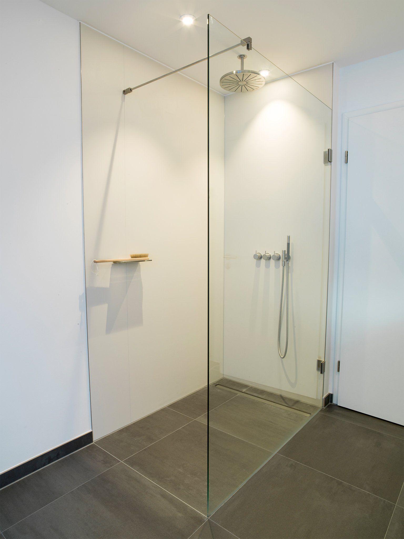 Walk-In-Dusche mit Glasabtrennung | Eigenes Haus | Pinterest