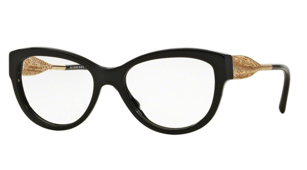 Burberry OBE2210-3001 Black Cat eye Frame | BURBERRY EYEWEAR | Pinterest