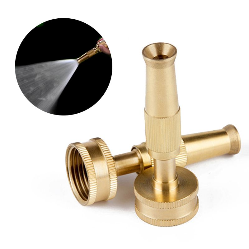 Click To Buy 4 Brass Garden Sprinkler Spray Nozzle High Pressure Misting Garden Hose Connector Sprayer Sp Nozzle Design Hose Holder Sprinkler Irrigation