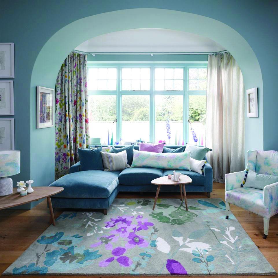 Room Reveal Purple And Grey Living Room: 20 Dazzling Purple Living Room Designs