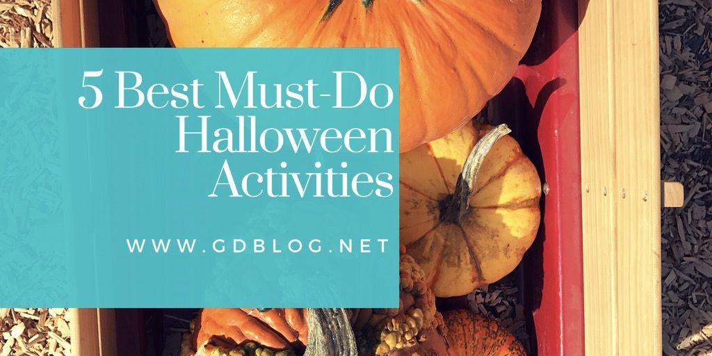 5 Best Must-Do Halloween Activities GD Blog Halloween stuff - halloween activities ideas