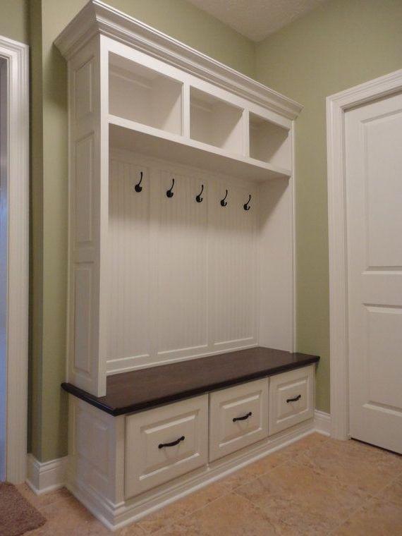 Furniture Mudroom Coat Hooks Mudroom Storage Bench With Coat Hooks