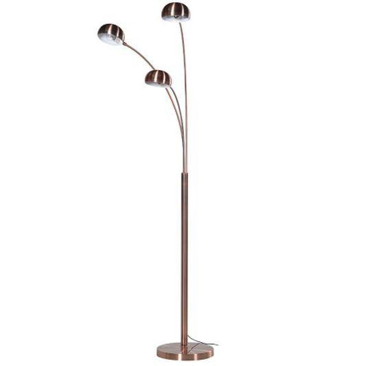 Copper Multi Light Floor Lamp Graham Brown Uk Copper Floor
