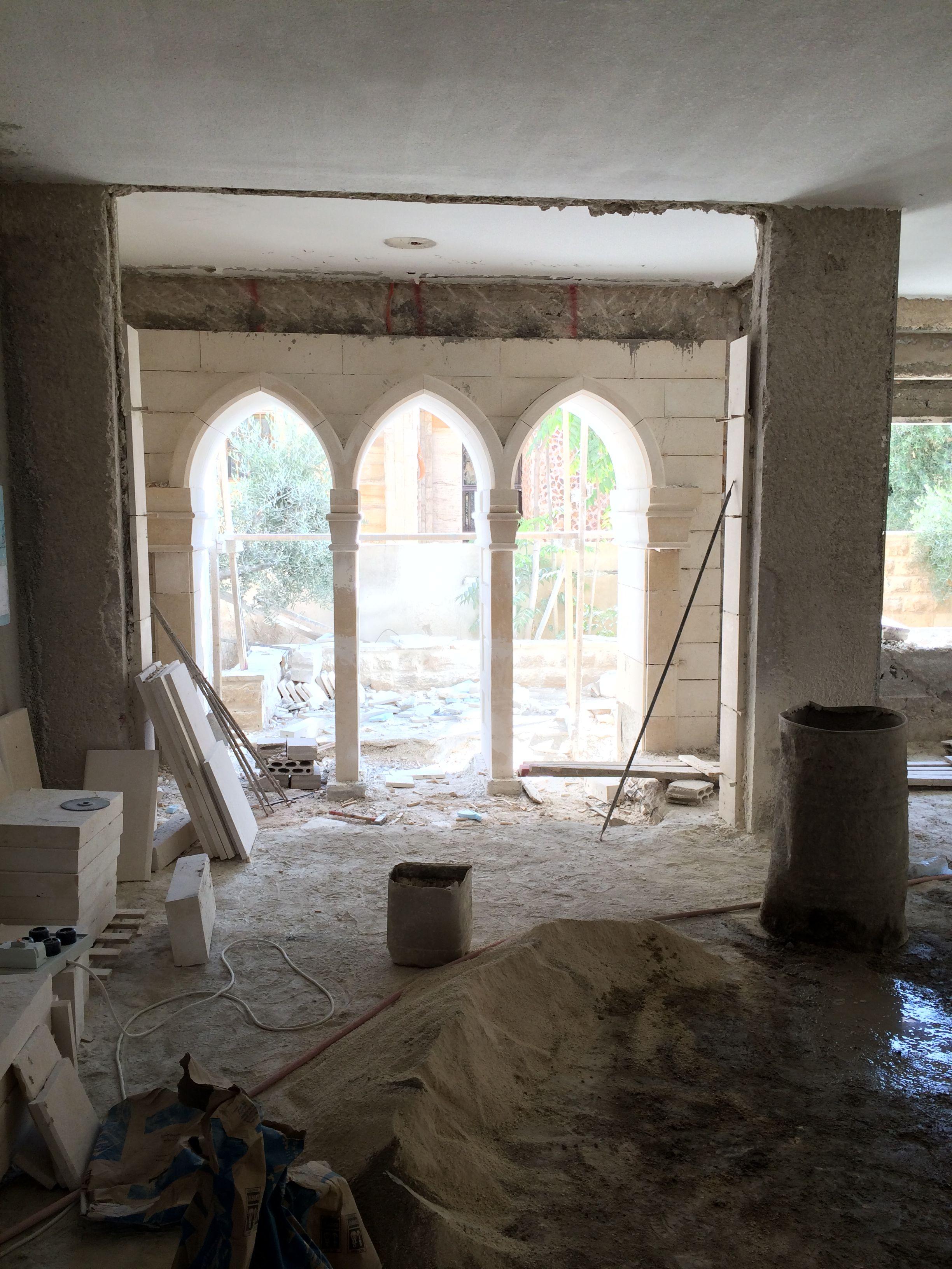 Stone arch work