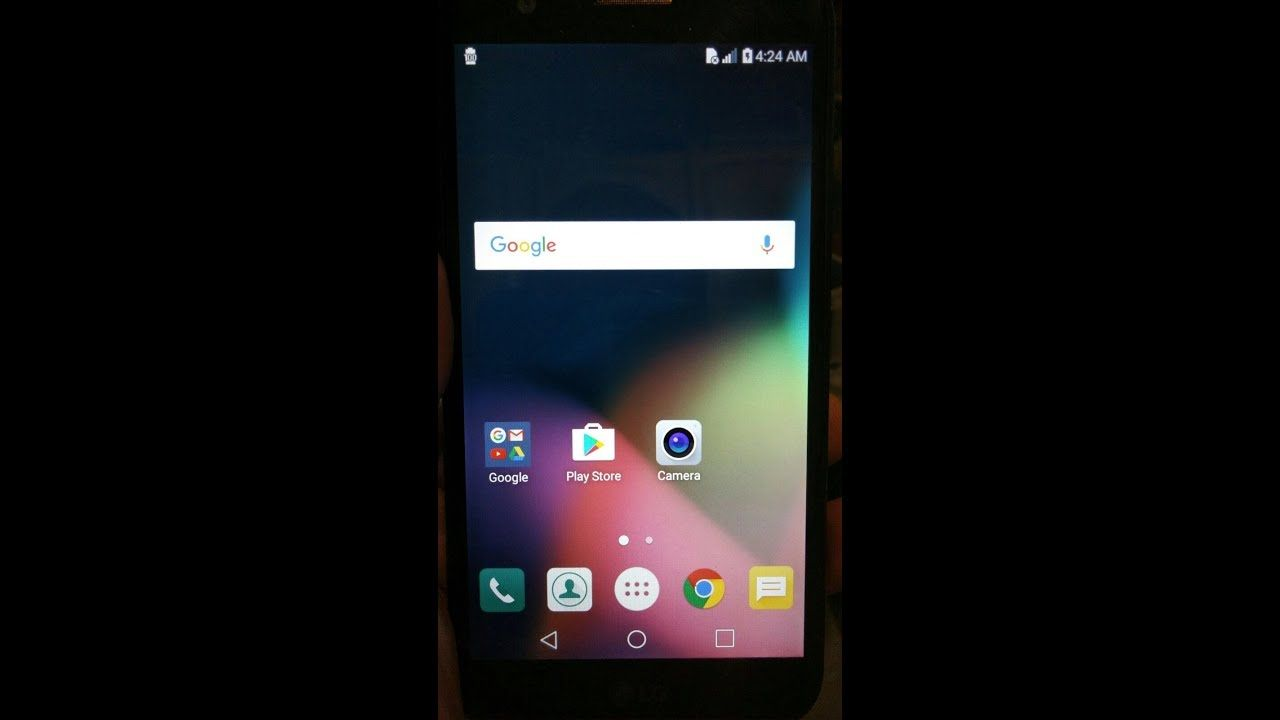 Remove google account LG K20 Plus TP260 MP260 | Google