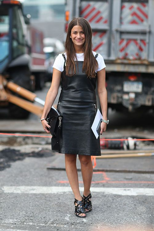 Amanda Weiner | New York Street Style Fashion Week Spring 2014 | photography by Diego Zuko