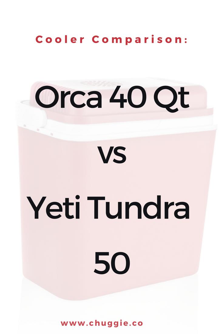 40 Quart Orca Vs Yeti Tundra 50 Review Yeti Cooler Sizes Yeti Tundra Coolers Like Yeti