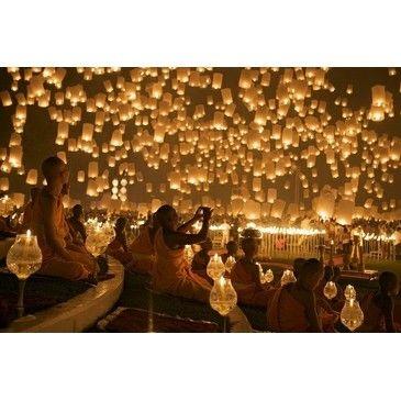 -lantern Fest, thailandia
