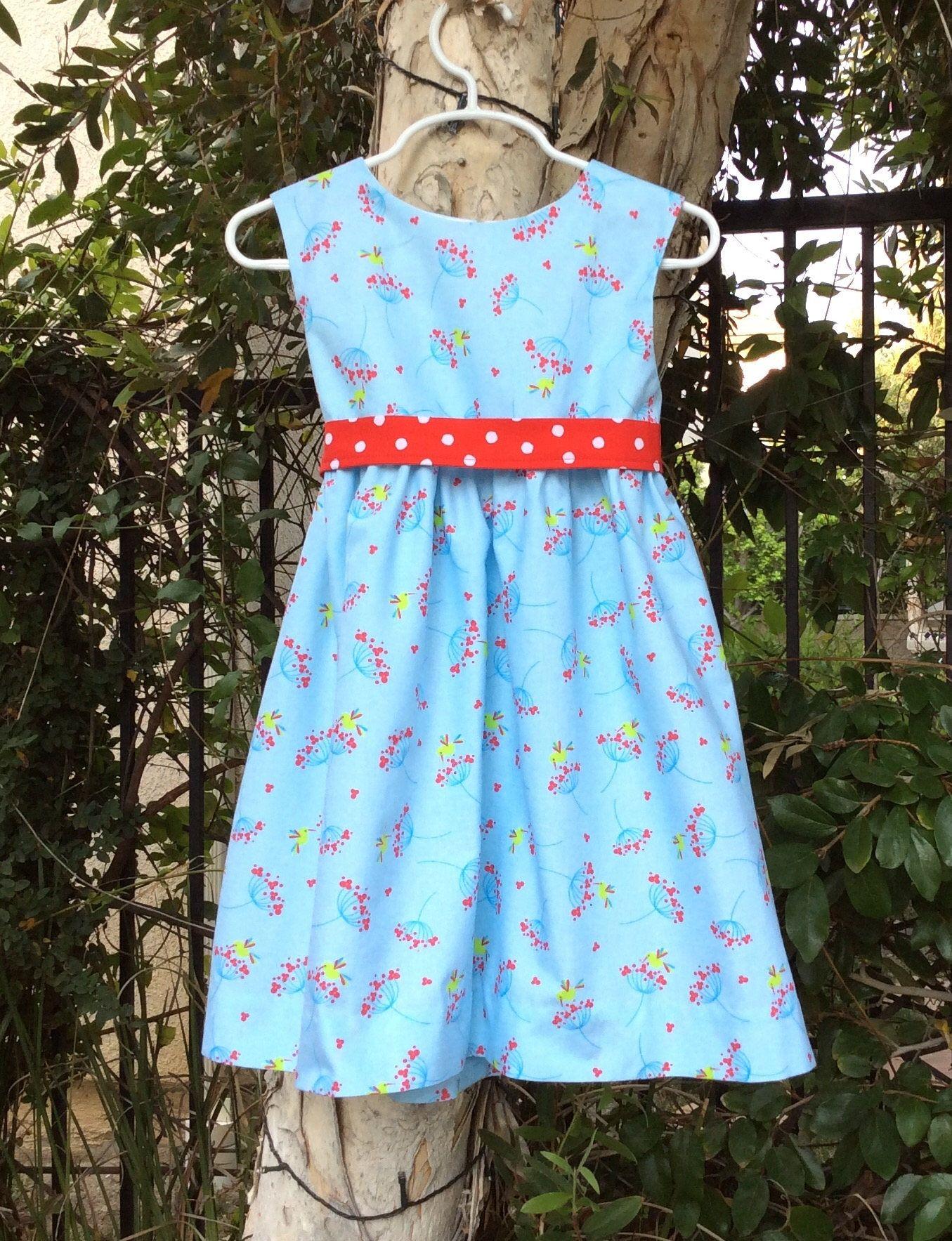 Little Girls Girls Party Summer Cotton Dress Birds An De Etsy Girls Cotton Dresses Summer Frock Designs Girls Clothes Patterns [ 1767 x 1355 Pixel ]