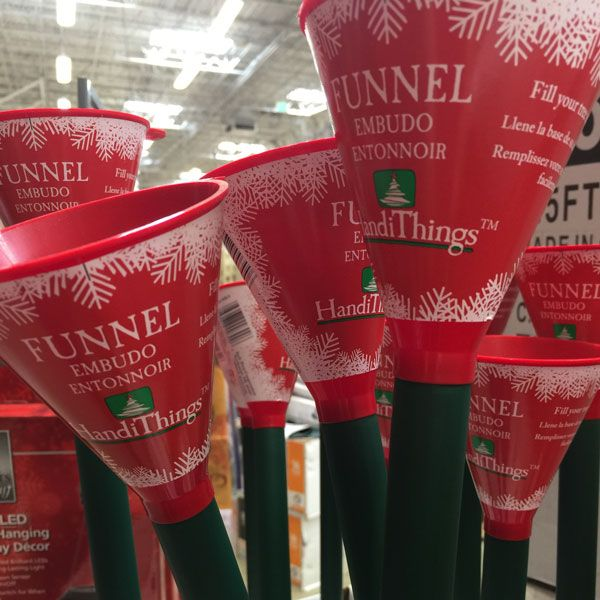 Christmas Tree Funnel Ht300 24 The Home Depot Christmas Tree Water Fresh Christmas Trees Live Christmas Trees