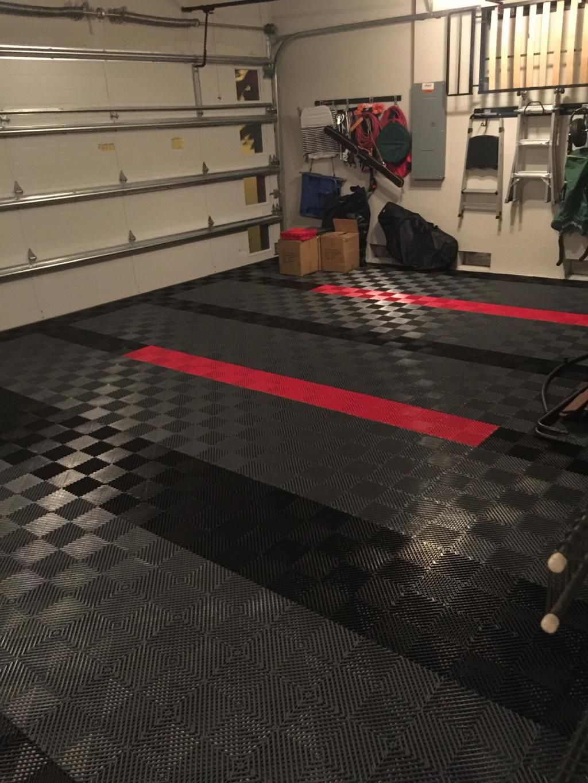 Perforated Garage Tile Garage Design Garage Floor Tiles Garage