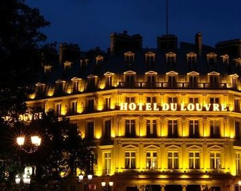 Hotel du Louvre Paris France | What's pretty or fun today