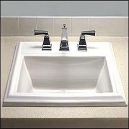 American Standard Cadet Pedestal Sink 24 In Bone Build It Green