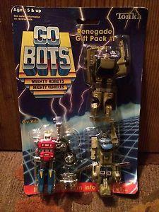 RARE 1985 Tonka Go Bots Renegade Gift Pack #1 #7250 Cy-Kill Twin Spin &  Stinger    eBay