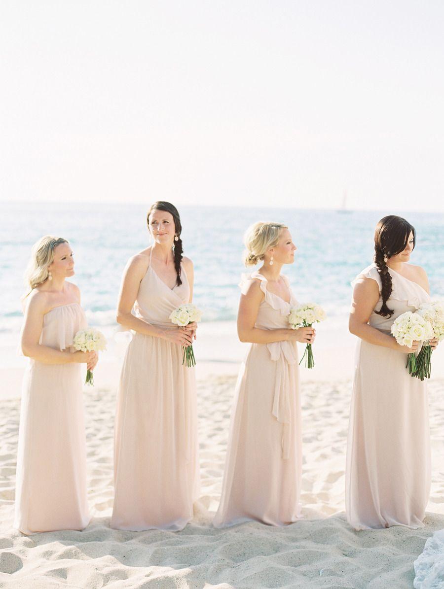 Destination wedding in puerto vallarta mexico blush pink blush destination wedding in puerto vallarta mexico destination bridesmaid dressesmismatched ombrellifo Choice Image