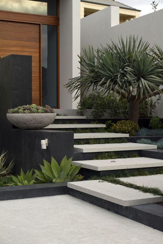 14 Ideas Of Modern Landscape Design For Living House Modern Landscape Design Landscape Design Modern Landscaping